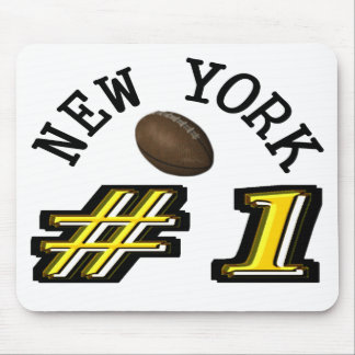 New York Football is Number 1 Mouse Pad