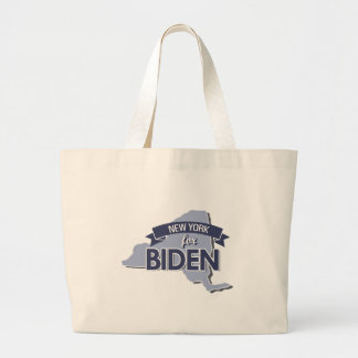 NEW YORK FOR BIDEN -.png Canvas Bags