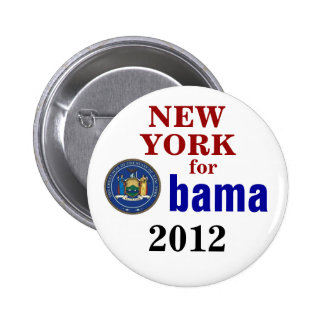 New York for Obama Buttons