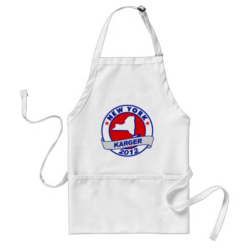 New York Fred Karger Apron