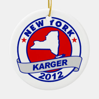 New York Fred Karger Christmas Ornaments