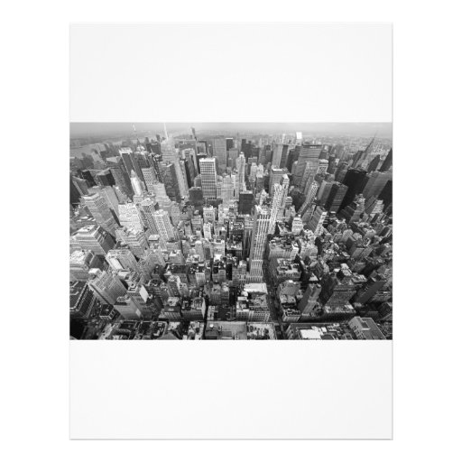 New York from Above Flyer