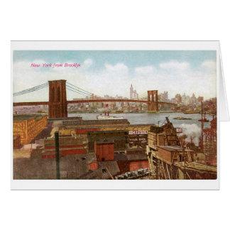 New York from Brooklyn Card