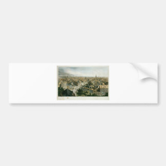 New York from the Steeple of Saint Paul's Church Bumper Sticker