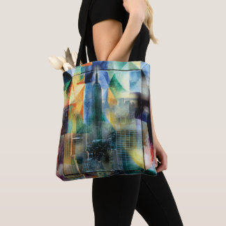 New York from the window Tote Bag