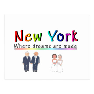New York Gay Marriage Postcard