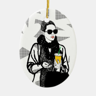New York Girl Serie Christmas Ornament