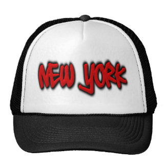 New York Graffiti Mesh Hat