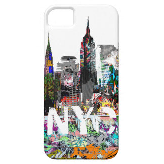New York graffiti iPhone 5 Case