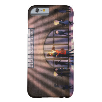 New York Grand Central Romantic Art Barely There iPhone 6 Case
