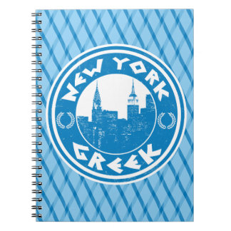 New York Greek American Notepad Notebook
