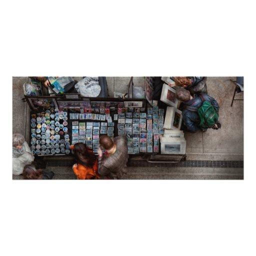 New York  - Greenwich Village - I sell photos Rack Card