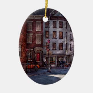 New York - Greenwich Village - Northern Dispensary Christmas Ornament