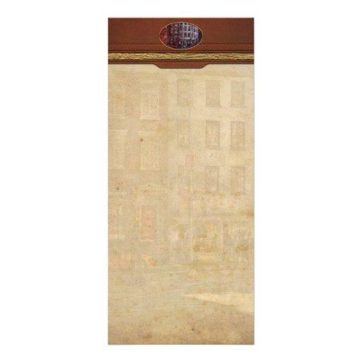 New York - Greenwich Village - Northern Dispensary Rack Card