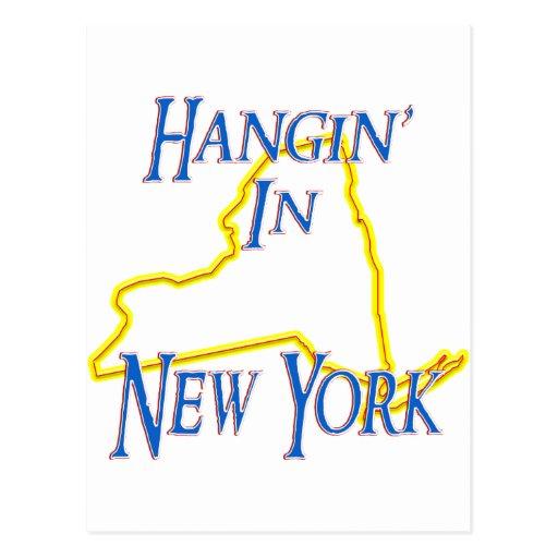 New York - Hangin' Post Cards