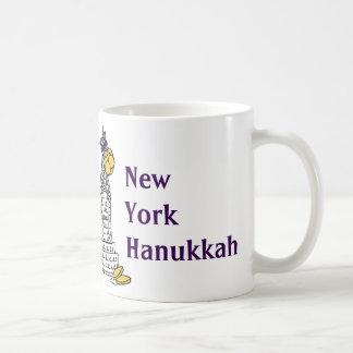 New York Hanukkah Gelt NYC Holiday Mug