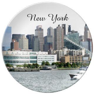New York Harbor Plate