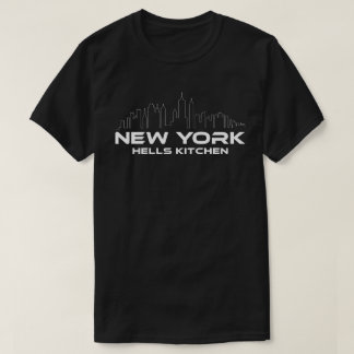 New York Hells Kitchen Neighborhood T-Shirt
