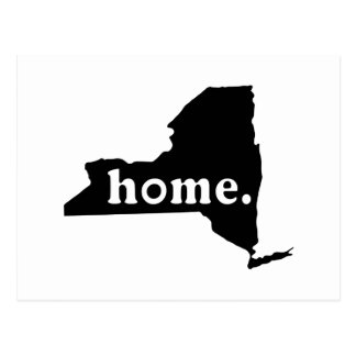 New York Home Postcard