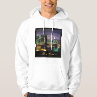 new-york hooded pullover