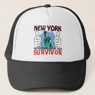 New York Hurricane Irene Survivor Trucker Hat