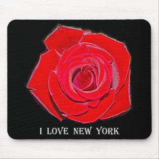 New York I Love New York (Rose) Mouse Pad