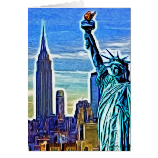New York Imagery Card