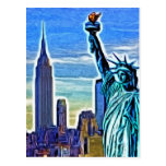 New York Imagery Post Card