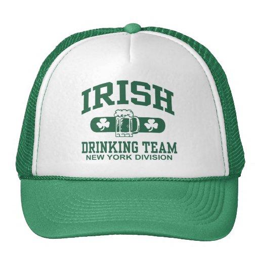 New York Irish Drinking Team Mesh Hat