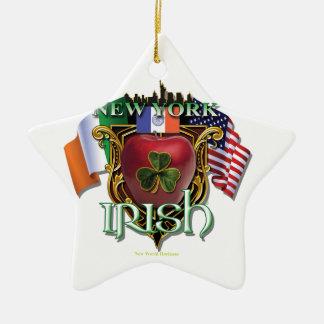 New York Irish Pride Christmas Ornament