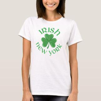 New York Irish Shamrock T-Shirt