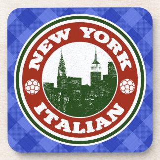 New York Italian American Coaster Set