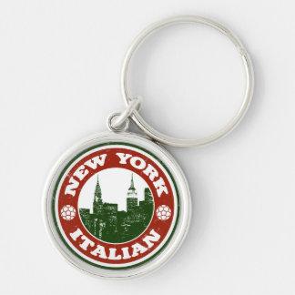New York Italian American Key Chain