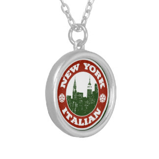 New York Italian American Personalized Necklace