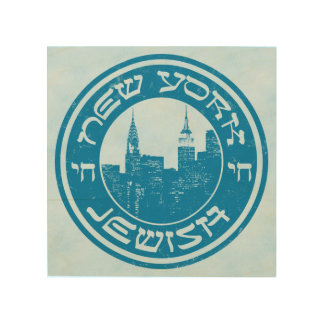 New York Jewish American Print