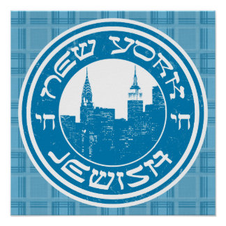 New York Jewish Art Print