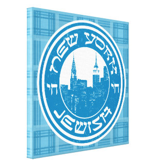New York Jewish Box Canvas Canvas Print