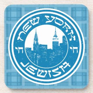 New York Jewish Coaster Set
