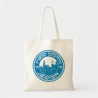 New York Jewish Grocery Bag
