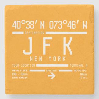 New York JFK International Airport Code Stone Coaster