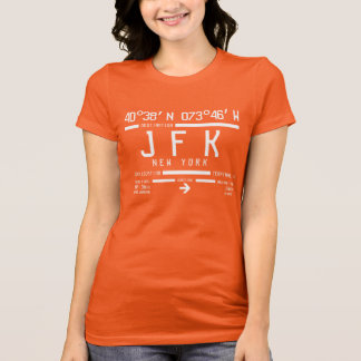 New York JFK International Airport Code T-Shirt
