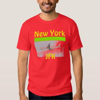 New York JFK Red Tee - ARP