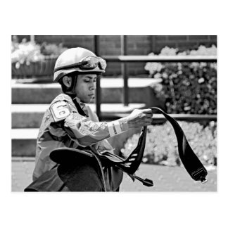 "New York Jockey ""Manuel Franco"" Postcard"