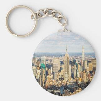 New York Key Ring