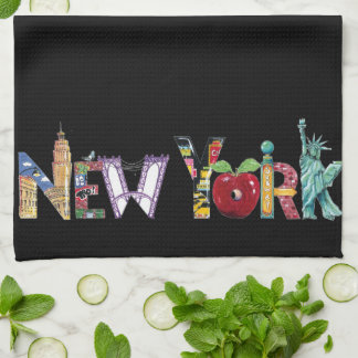 New York kitchen towel