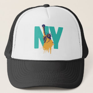 New York Lady Liberty Trucker Hat