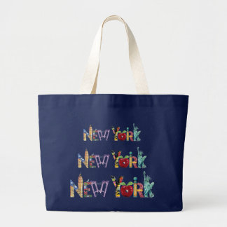New-York large tote bag