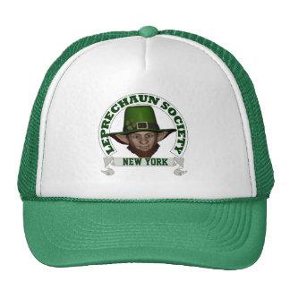 New York leprechaun society St Patrick s day Trucker Hat