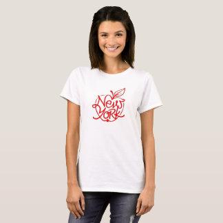 New York lettering design. Big apple. NYC. T-Shirt