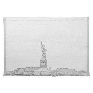 New York Liberty Sketch Place Mat